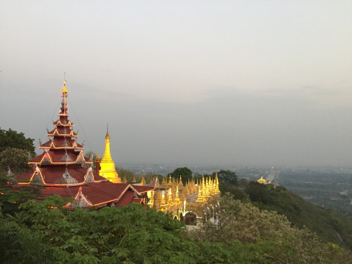 View from the Mandalay Hill