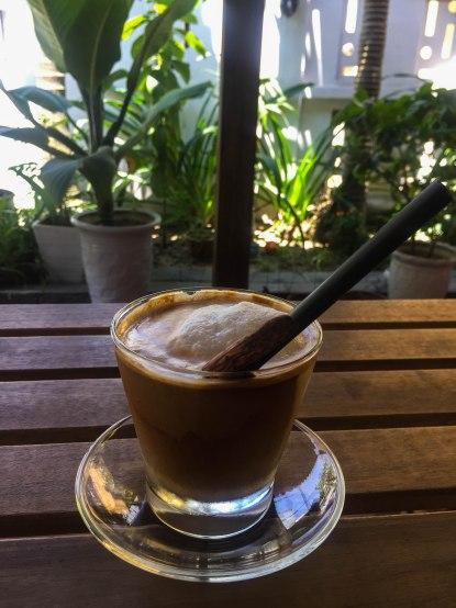 Perfect coconut lattes
